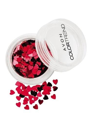 Avon Kalp Şeklinde Parıltılar Renkli
